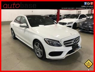 Used 2016 Mercedes-Benz C-Class C300 4MATIC BURMESTER PREMIUM PLUS SPORT ACTIVE LED for sale in Vaughan, ON