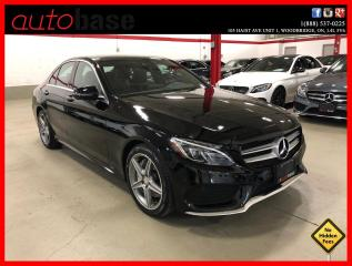 Used 2016 Mercedes-Benz C-Class C300 4MATIC BURMESTER PREMIUM PLUS SPORT ACTIVE LED 360 CAM for sale in Vaughan, ON
