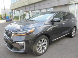 Used 2019 Kia Sorento 3.3L SXL DEMO/loaded nappa leather/panoramic sunroof/navigation/360' camera/AWD for sale in Mississauga, ON