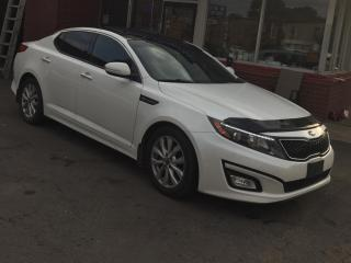 Used 2015 Kia Optima PushToStart,DoublePanoramaRoof,Leather,BackUpCamera,Pwr/HtdSeats,PremiumAudio,Scratchless,KiaWarranty for sale in Toronto, ON