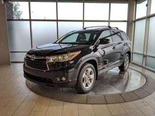 Used 2016 Toyota Highlander LIMITED  for sale in Edmonton, AB