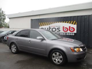 Used 2007 Hyundai Sonata AUTOMATIQUE - ROULE COMME NEUF for sale in Laval, QC