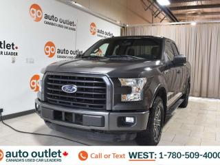 Used 2015 Ford F-150 Xlt, 5.0L V8, 4x4, SuperCab, Short box, Cloth seats, Backup camera, Bluetooth for sale in Edmonton, AB