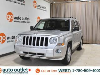 Used 2010 Jeep Patriot Limited, 2.4L I4, 4wd, Leather heated seats, Navigation, Sunroof, Bluetooth for sale in Edmonton, AB