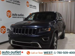 Used 2016 Jeep Grand Cherokee Limited, 3.6L V6, Leather heated seats, Heated steering wheel, Backup camera, Sunroof, Bluetooth for sale in Edmonton, AB