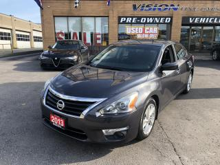 Used 2013 Nissan Altima 2013 Nissan Altima - 4dr Sdn I4 CVT 2.5 S for sale in North York, ON