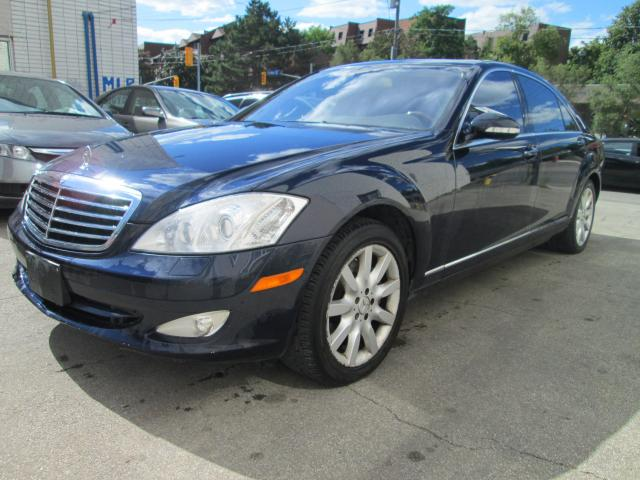 2007 Mercedes-Benz S550 4MATIC 4MATIC V8 Navigation|Front and rear cam.