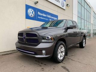 Used 2016 RAM 1500 SPORT 4X4 LOW KMS! 5.7L HEMI for sale in Edmonton, AB