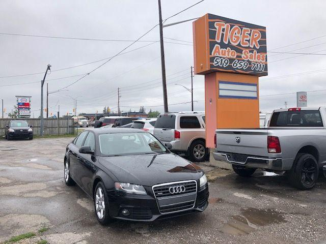 2009 Audi A4 2.0T**NEW TIRES/BRAKES**AUTO**ONLY 174KMS**CERT.