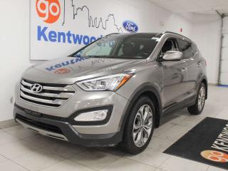 Used 2014 Hyundai Santa Fe Sport Limited 2.0T AWD with sunroof, power leather seats, push start/stop and back up cam for sale in Edmonton, AB