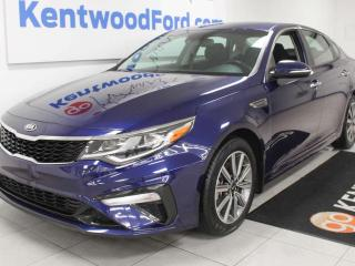Used 2019 Kia Optima Optima FWD with heated power seats, heated steering wheel, push start/stop and back up cam for sale in Edmonton, AB