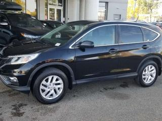 Used 2015 Honda CR-V EX-L; BLUETOOTH, BACKUP CAM, HEATED SEATS, SUNROOF AND MORE for sale in Edmonton, AB