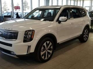 Used 2020 Kia Telluride SX V6; ADVANCED SAFTEY, 8 PASS, NAV, 360 DEGREE CAMERA, DUAL SUNROOF AND MORE for sale in Edmonton, AB