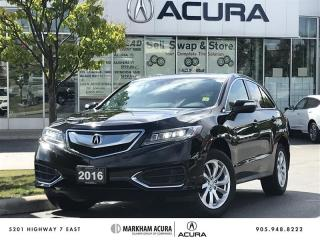 Used 2016 Acura RDX Tech at AWD, Navi, Backup Camera for sale in Markham, ON