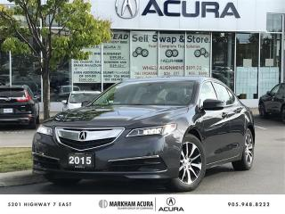 Used 2015 Acura TLX 2.4L P-AWS 8DCT, Backup Camera, Moonroof for sale in Markham, ON