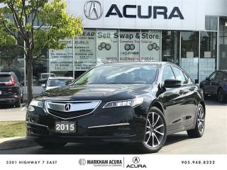 Used 2015 Acura TLX 3.5L SH-AWD 290HP, Backup Camera, Heated Seats for sale in Markham, ON