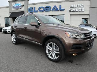 Used 2011 Volkswagen Touareg V6 TDI EXECLINE NAV. PANO. ROOF for sale in Ottawa, ON