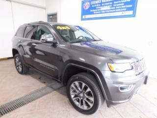Used 2017 Jeep Grand Cherokee Overland LEATHER NAVI SUNROOF for sale in Listowel, ON