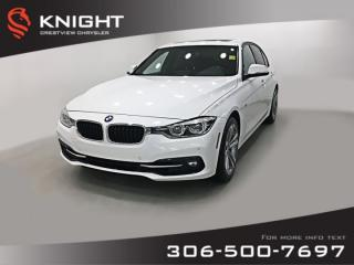 Used 2016 BMW 3 Series 328i xDrive AWD | Leather | Sunroof | Navigation for sale in Regina, SK