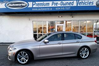 Used 2014 BMW 5 Series 535d xDrive *Diesel* *No Accidents, Premium & Tech for sale in Langley, BC
