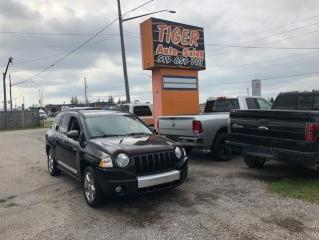 Used 2010 Jeep Compass LIMITED*ONLY 120KMS*LEATHER*4X4*TOUCH SCREEN*CERT. for sale in London, ON