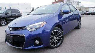 Used 2016 Toyota Corolla LEATHER ROOF Nav S for sale in Toronto, ON