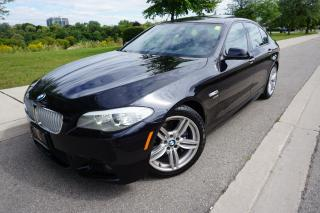 Used 2012 BMW 5 Series 550XI - M SPORT / HEADS UP DISPLAY / BLACK BEAUTY for sale in Etobicoke, ON
