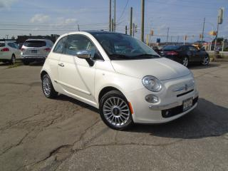 Used 2012 Fiat 500 Lounge for sale in Oakville, ON