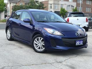 Used 2012 Mazda MAZDA3 B|Sport|Accident free|Sunroof|Bluetooth|Alloys for sale in Burlington, ON