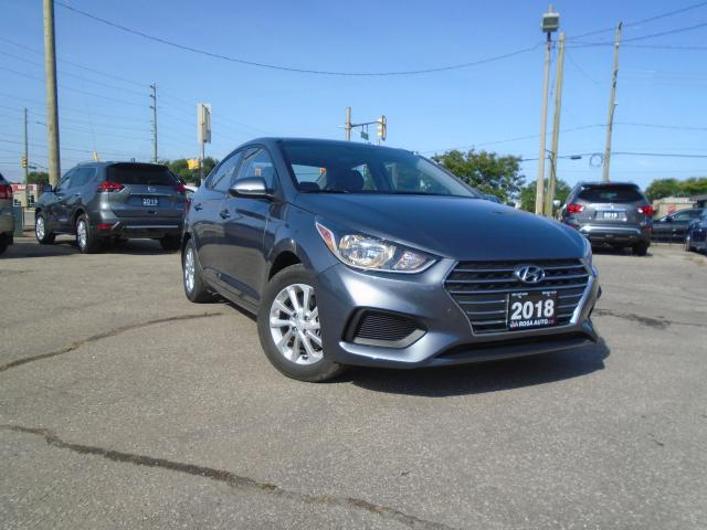 2018 Hyundai Accent AUTO 4DR PW PL PM CRUISE B-TOOTH CARPLAY B-CAMERA