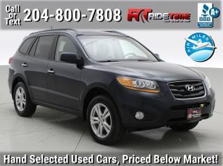 Used 2011 Hyundai Santa Fe Limited w/Navi for sale in Winnipeg, MB