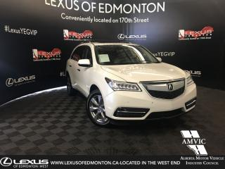 Used 2014 Acura MDX Elite Pkg for sale in Edmonton, AB