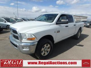Used 2012 RAM 3500 SLT Crew CAB SWB 4WD 6.7L for sale in Calgary, AB