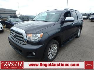 Used 2016 Toyota Sequoia Platinum 4D Utility AT 4WD 5.7L for sale in Calgary, AB