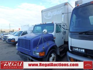 Used 1999 International 4700  BOX TRUCK 2WD DRW for sale in Calgary, AB