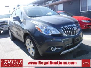 Used 2016 Buick Encore 4D Utility AWD for sale in Calgary, AB