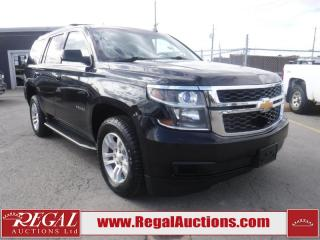 Used 2015 Chevrolet Tahoe LS 4D Utility 4WD for sale in Calgary, AB