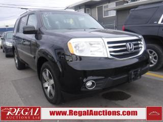 Used 2013 Honda Pilot 4D Utility 4WD for sale in Calgary, AB
