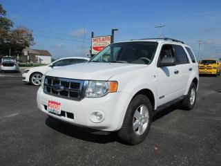 Used 2008 Ford Escape XLT 4WD V6 for sale in Alvinston, ON