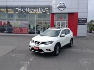 Used 2015 Nissan Rogue SL AWD LEATHER, NAVIGATION, PANORAMIC SUNROOF for sale in Belleville, ON