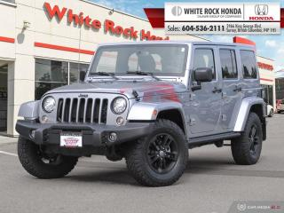 Used 2017 Jeep Wrangler Unlimited Winter for sale in Surrey, BC