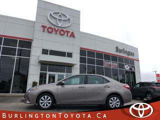 Used 2016 Toyota Corolla LE for sale in Burlington, ON