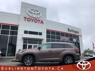 Used 2017 Toyota Highlander XLE for sale in Burlington, ON