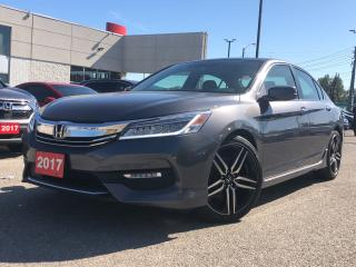 Used 2017 Honda Accord Touring, one owner, beautiful shape for sale in Toronto, ON