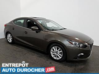 Used 2016 Mazda MAZDA3 GS   TOIT OUVRANT AIR CLIMATISÉ - Caméra de Recul for sale in Laval, QC