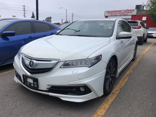 Used 2015 Acura TLX Elite, one owner, clean carfax, loaded for sale in Toronto, ON