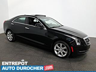 Used 2015 Cadillac ATS Sedan Luxury AWD NAVIGATION - Automatique - A/C - Cuir for sale in Laval, QC