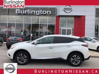 Used 2017 Nissan Murano SL for sale in Burlington, ON