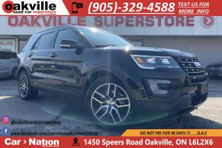 Used 2017 Ford Explorer SPORT   PANO ROOF   NAVI   HTD VNTD SEATS   CAM for sale in Oakville, ON