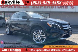 Used 2016 Mercedes-Benz GLA 250 4MATIC   PANO ROOF   NAVI   LED   B/U CAM for sale in Oakville, ON